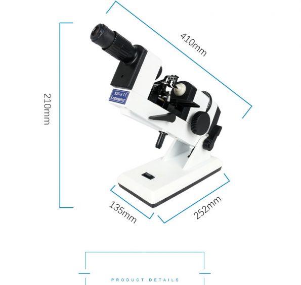 Máy đo tròng thủ công NJC-5