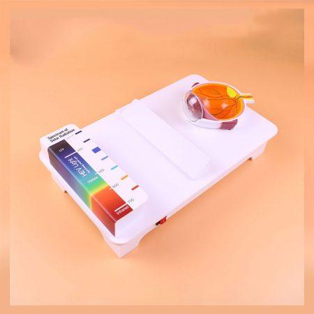 Máy đo tròng kính chống tia UV - Tia sáng xanh LY